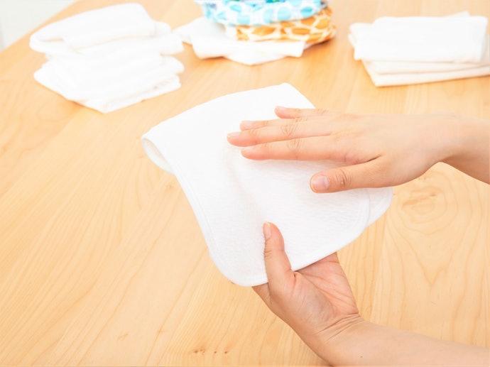 未使用状態ではさらっとした肌触り。2回目の洗濯で表面に硬さが…