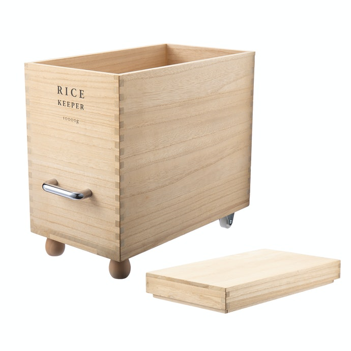 【レビュー結果】人気の米びつ23商品中15位!デザイン性と移動性の高さが魅力