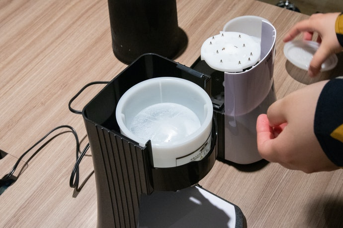 3つのパーツを分解して洗えるのでお手入れ簡単!衛生管理のしやすさは◎