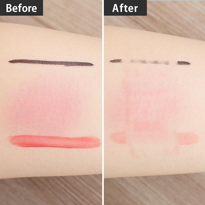 しっかり水を弾いて汚れが落ちる。しつこい肌汚れには数回擦りが必要