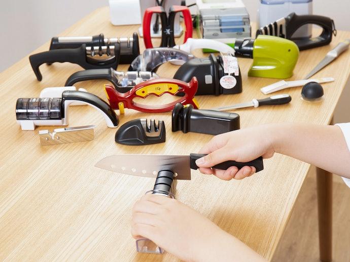 リリーフ 電動刃物研ぎ器を実際に使って検証レビュー!