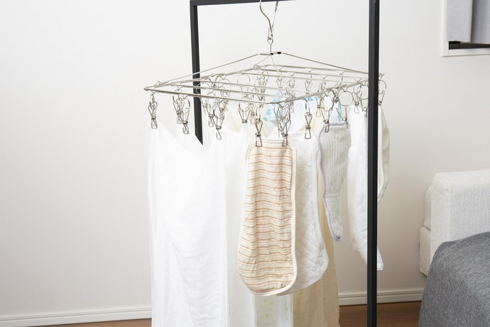 乾くまでは2時間でOK。速乾性抜群で洗濯がラク