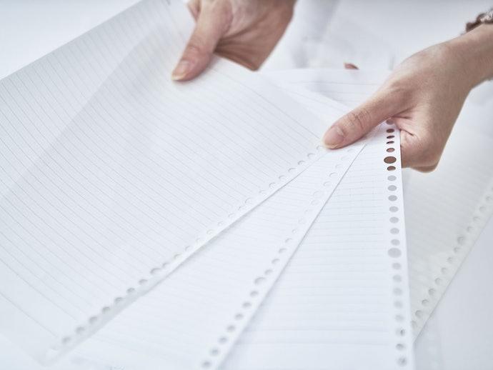 罫線は工夫があり使いやすい。バランスのいい文字が書ける!