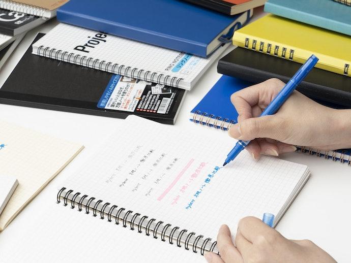 ゲルインクボールペンの書き心地が抜群!その他のペンは凸凹や書き溜まりが多少出る