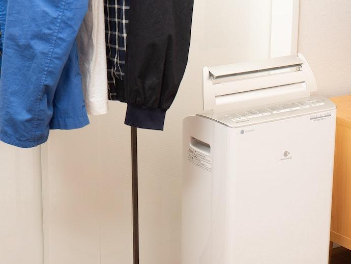 乾燥力はやや高め!靴下とシャツはしっかり乾く