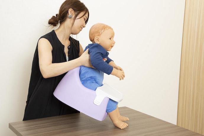 小さめの赤ちゃんなら使いやすそう!評価は5点満点で3.4点