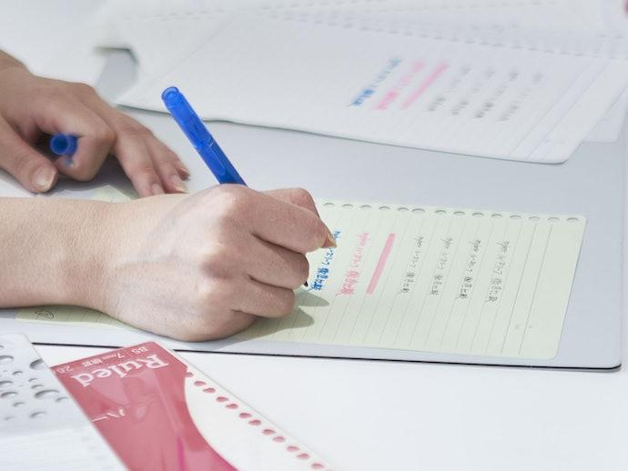 書き心地は平均以上。ボールペンとの相性はバッチリ!