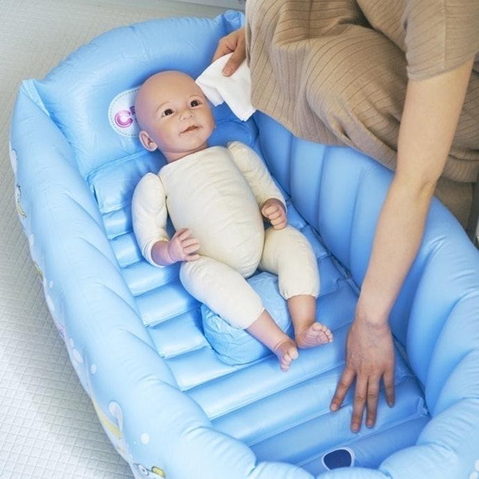フカフカで安全!ただし小さい赤ちゃんはコツが必要