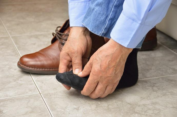 口コミ①:滑りやすく足が疲れる
