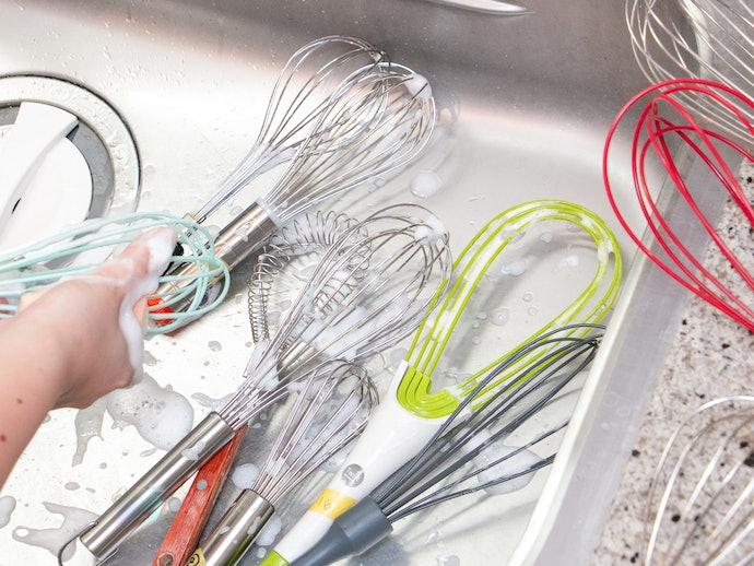 中のワイヤーまで綺麗に洗うことができる