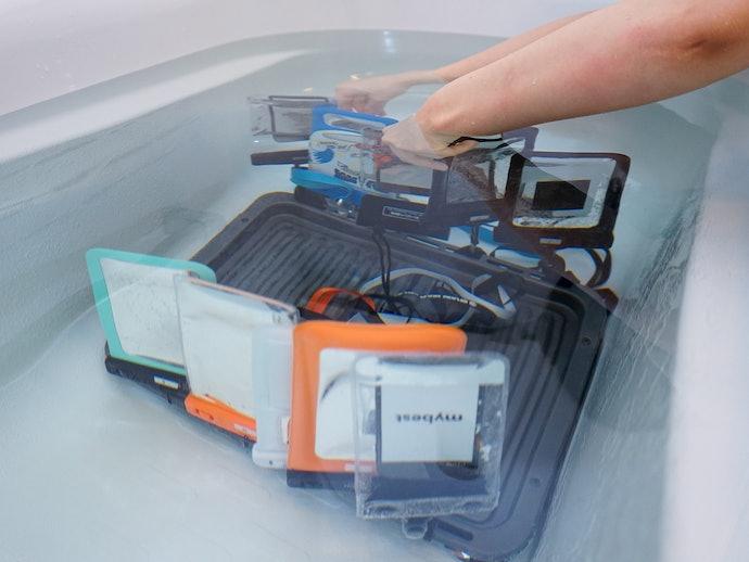 検証①:防水性能