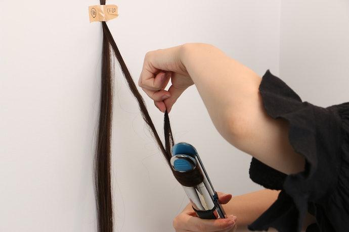 口コミ①:巻き髪を作るのが難しい!