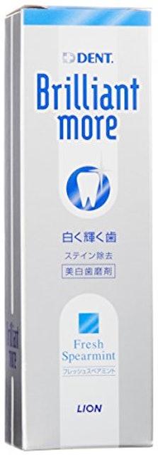 歯磨き粉 ライオン歯科材 ライオン ブリリアントモア【医薬部外品】