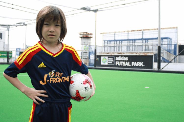 東京都内 サッカー教室 J-フロンテッジフットボールスクール