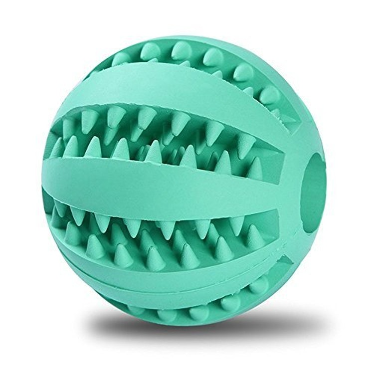 犬おもちゃ QQPOW ラバー製 おやつボール 1枚目
