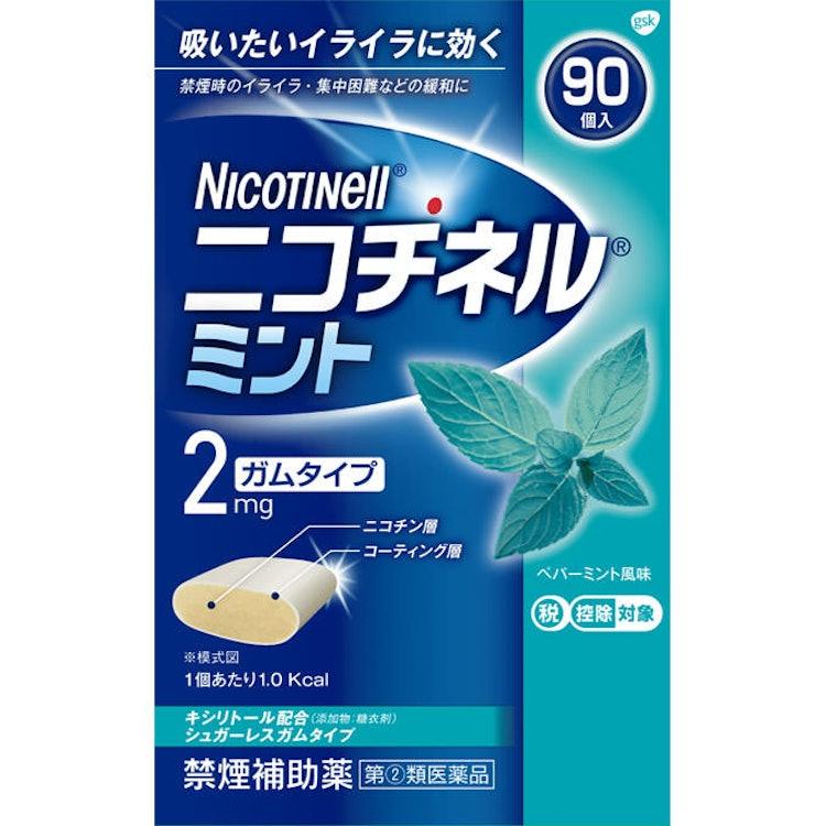 禁煙補助薬 グラクソ・スミスクライン ニコチネル