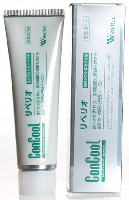 歯肉炎歯磨き粉 ウエルテック コンクール リペリオ 1枚目