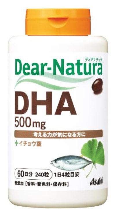スマートドラッグ アサヒグループ食品 ディアナチュラ DHA ウィズ イチョウ葉 1枚目