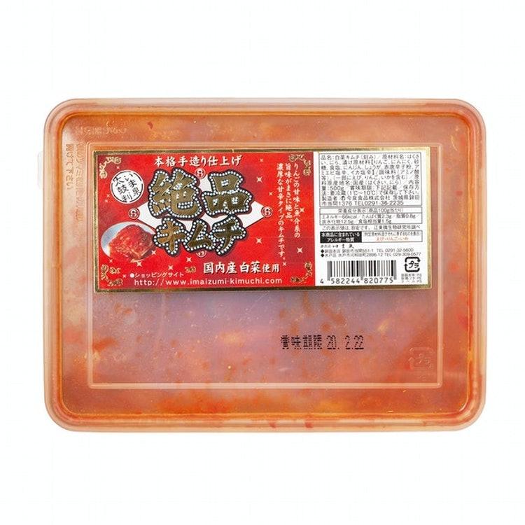 にんにくたっぷり白菜キムチ 今泉食品 絶品キムチ 1枚目