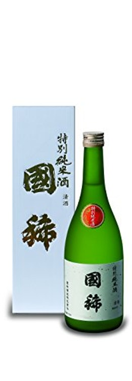 北海道 日本酒 國稀酒造 國稀 特別純米酒 1枚目