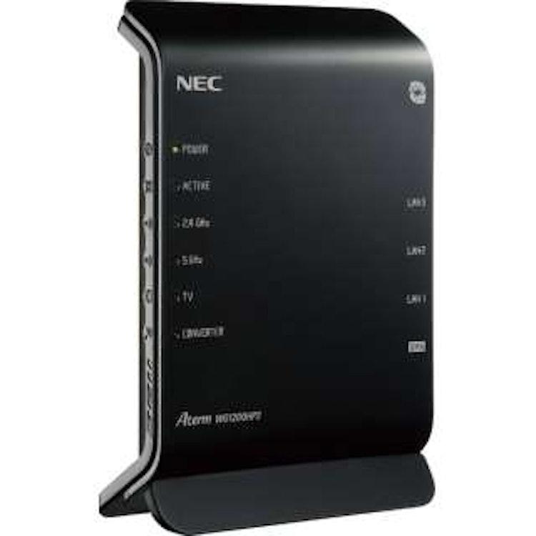 NEC無線LANルーター NEC Aterm WG1200HP3 1枚目