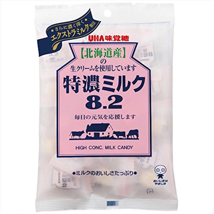 ミルク飴 味覚糖 UHA味覚糖  特濃ミルク8.2 1枚目