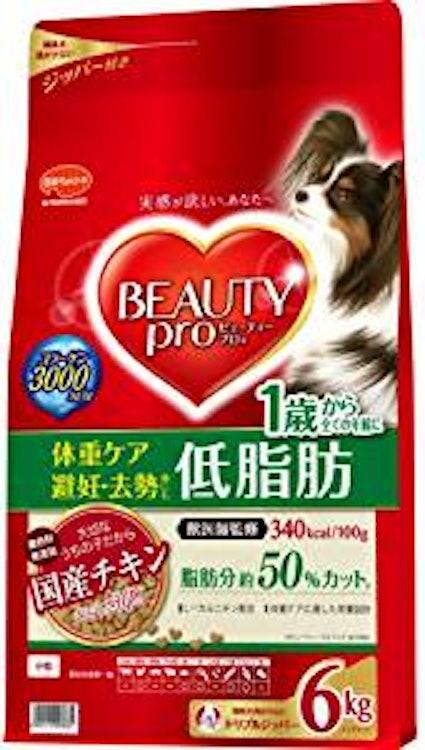 ビューティープロ ドッグ 成犬用 日本ペットフード ビューティープロ ドッグ 低脂肪1歳から 1枚目