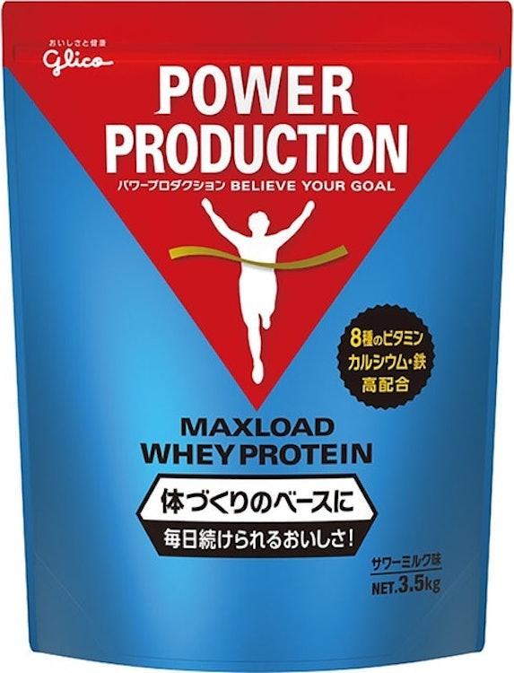 江崎グリコ パワープロダクション マックスロード ホエイプロテイン 江崎グリコ パワープロダクション マックスロード ホエイプロテイン サワーミルク味 1枚目