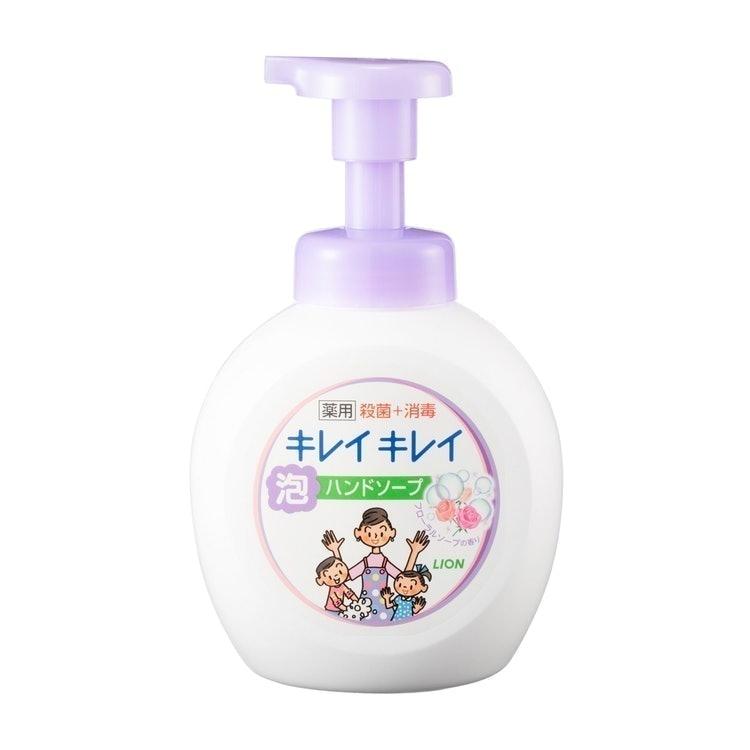 ミヨシ石鹸 無添加せっけん泡のハンドソープ ライオン キレイキレイ 薬用泡ハンドソープ 1枚目