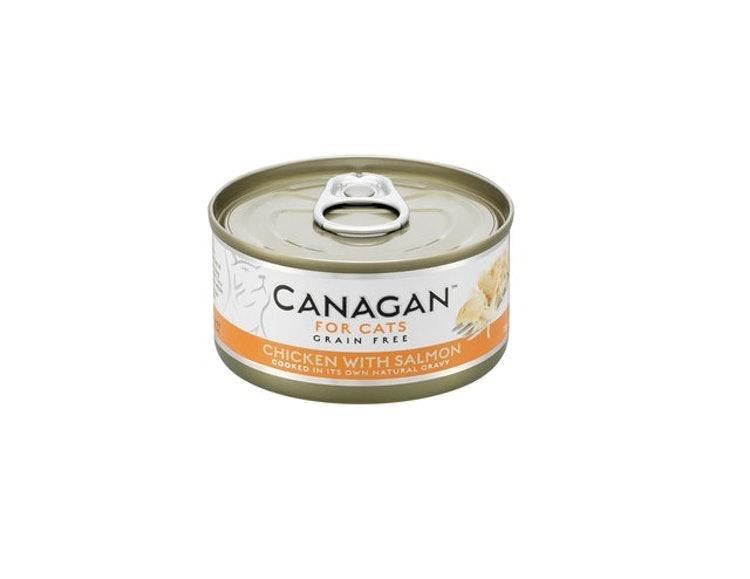 カナガンキャットフード カナガン チキン&サーモン(75g×12缶) 1枚目
