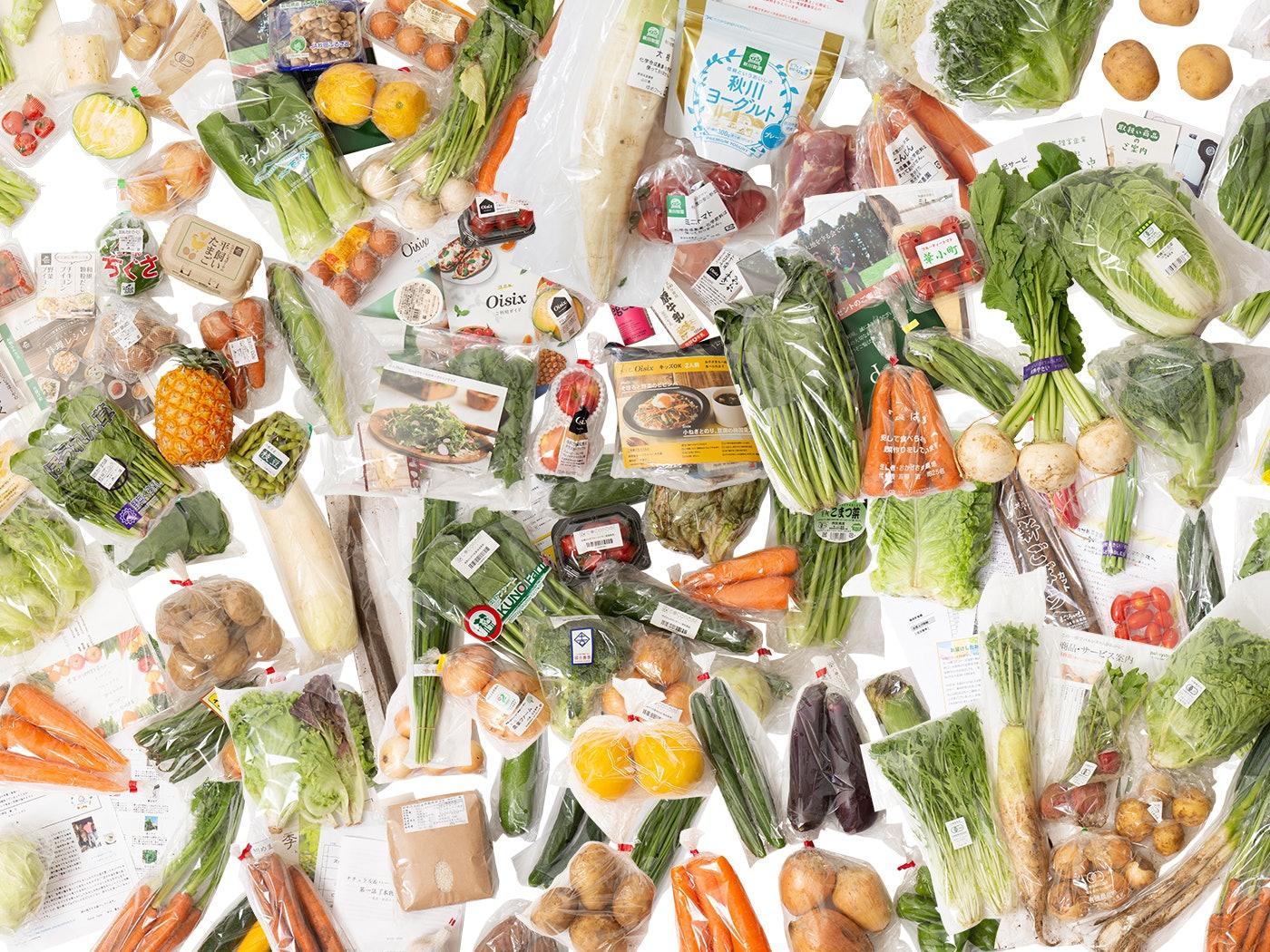 【徹底比較】野菜宅配サービスのおすすめ人気ランキング14選【ミレー・らでぃっしゅぼーや・Oisix】
