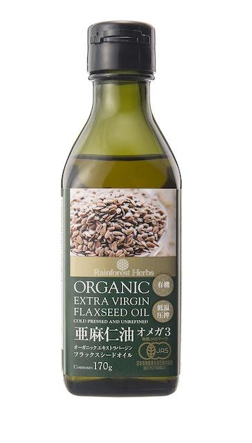 株式会社レインフォレストハーブジャパン 有機 亜麻仁油  1枚目