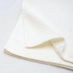 ニトリ 抗菌防臭加工 無撚糸バスタオル(BDマロック WH 60×120) 1枚目