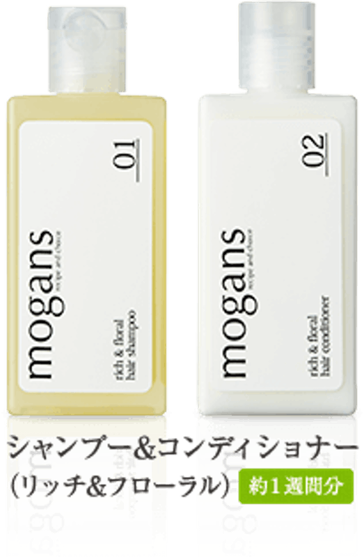モーガンズ シャンプー&コンディショナー トライアルキット リッチ&フローラル