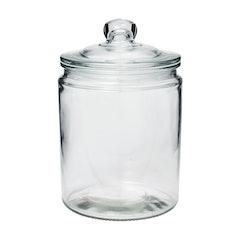 不二貿易 キャニスター ガラス Mサイズ 1枚目