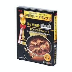 ヱスビー食品 神田カレーグランプリ マンダラ ビーフマサラカレー お店の中辛 180g×5箱 1枚目