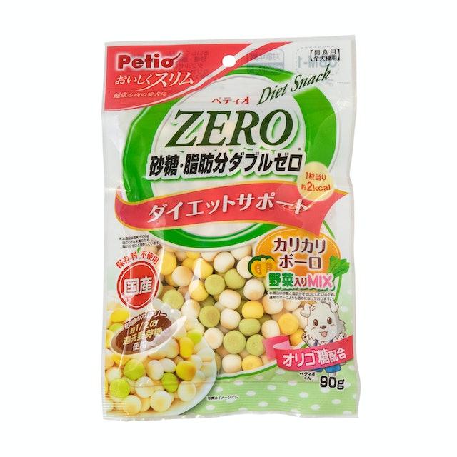 おいしくスリム 砂糖・脂肪分ダブルゼロ カリカリボーロ 野菜入りミックス 90g