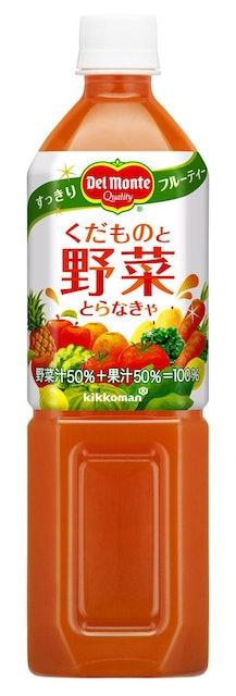 日本デルモンテ デルモンテ くだものと野菜とらなきゃ 920g×12本 1枚目