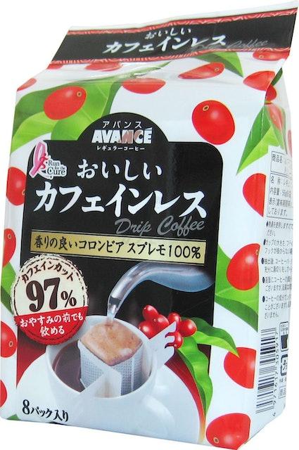 国太楼 アバンス おいしいカフェインレスドリップコーヒー 1枚目