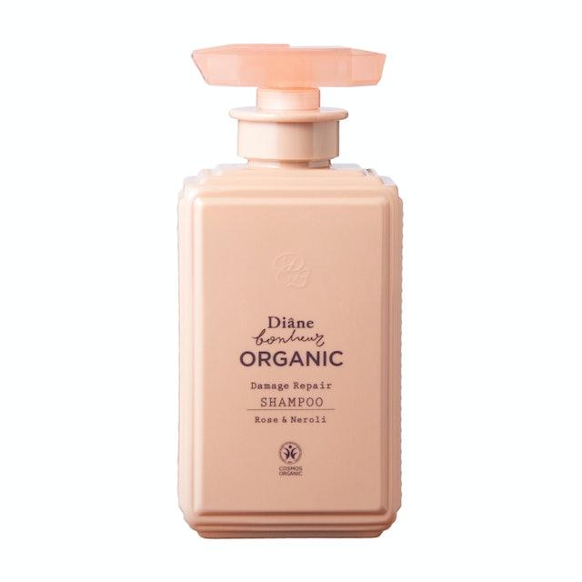 ダイアンボヌール ORGANIC ダメージリペア シャンプー ローズ&ネロリの香り