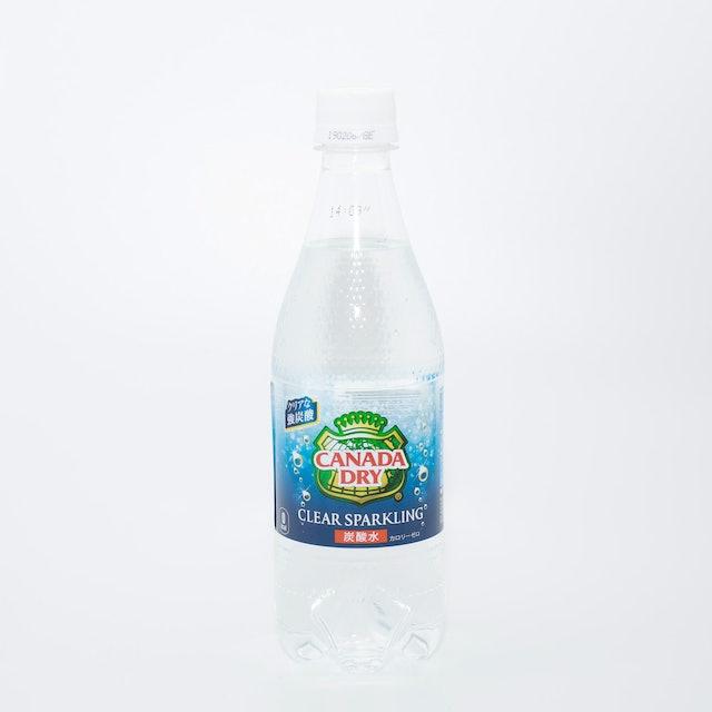 コカ・コーラ コカ・コーラ カナダドライ クリアスパークリング 無糖 炭酸水 ペットボトル 500ml×24本 1枚目
