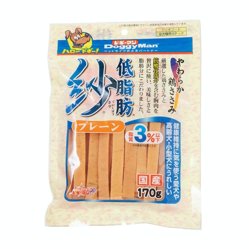 ドギーマンハヤシ 低脂肪紗 プレーン 170g×3個セット