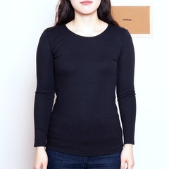イトーヨーカドー セブンプレミアムライフスタイル ボディヒーター 婦人 厚地長袖シャツ 1枚目