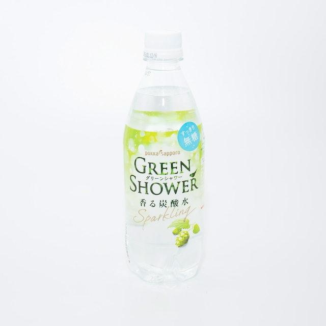 ポッカサッポロ フード&ビバレッジ Green Shower 500ml×3本 1枚目