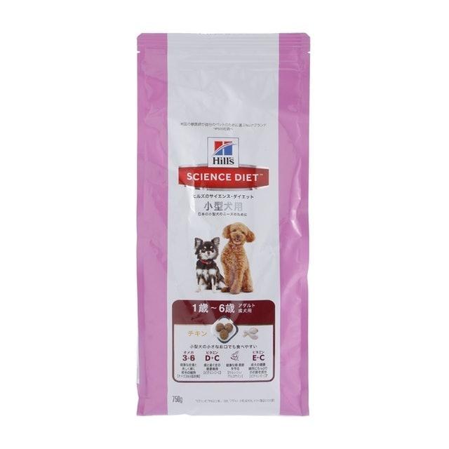 サイエンス・ダイエット アダルト 小型犬用 成犬用 1歳~6歳 750g
