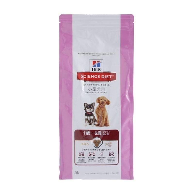 日本ヒルズ・コルゲート サイエンス・ダイエット アダルト 小型犬用 成犬用 1歳~6歳 750g