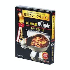 ヱスビー食品 神田カレーグランプリ 欧風カレーボンディ チーズカレー お店の中辛 180g×5個 1枚目