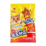 日本ペットフード ミオおとなのおいしくって毛玉対応 フィッシュミックス味 2.7kg
