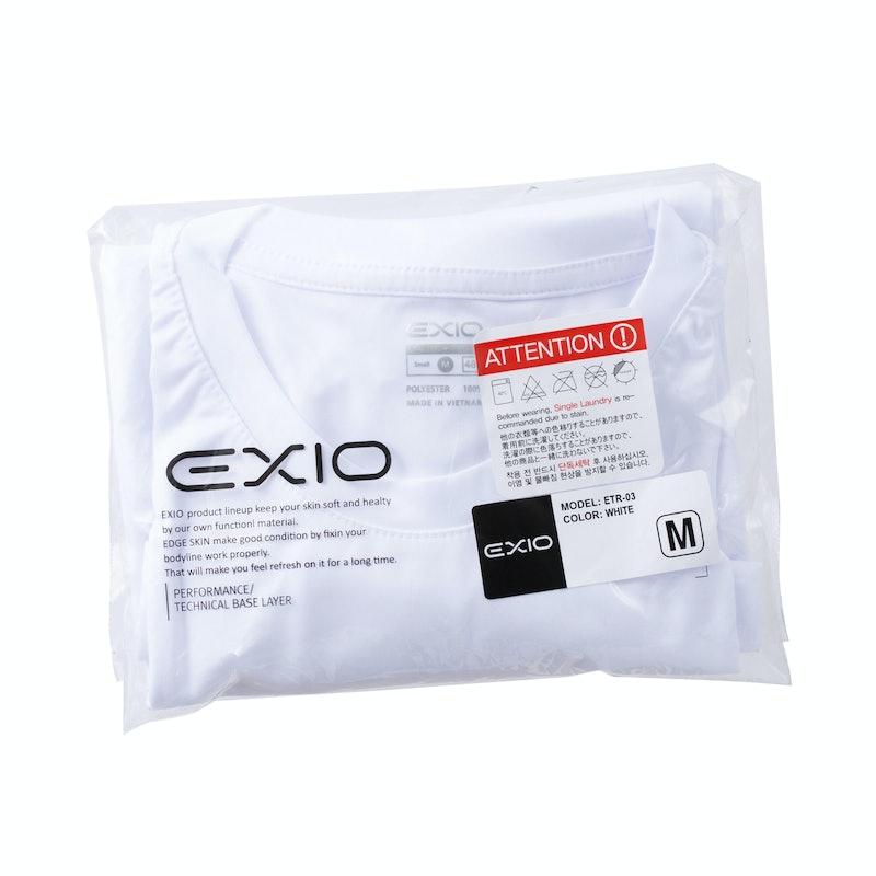 EXIO アンダーシャツ 半袖 丸首