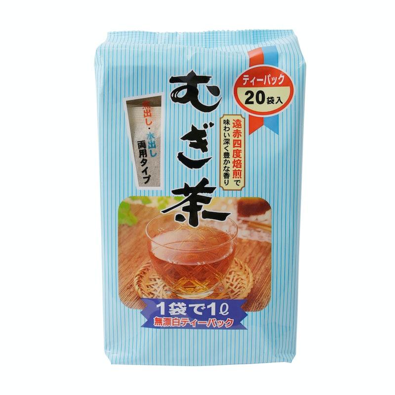 日東食品 ニットーリレー むぎ茶 54パック×20袋